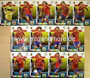 Adrenalyn XL EURO EM 2012 - Spanien Karte aussuchen
