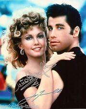 Grease  John Travolta & Olivia Newton-John 1 8 x 10 Autograph Reprint