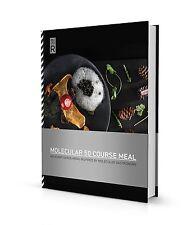 Molecule-R Molecular Gastronomy 50 Course Meal Recipe Book Cookbook Food Science