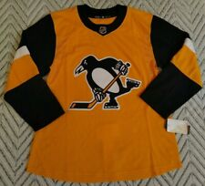 NHL Adidas Pittsburgh Penguins Climalite Men's Authentic Hockey Jersey Size 50