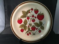 INTERNATIONAL CHINA COUNTRY LIVING DINNER PLATE STRAWBERRY PATCH JAPAN SY-12673
