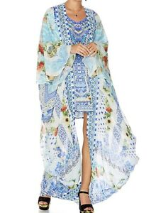 Camilla A Night To Remember Long Silk Cape RRP $899