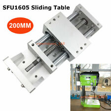 200mm Linear Module Stage Sliding Table SFU1605 Ballscrew Cross Slide Motion CNC