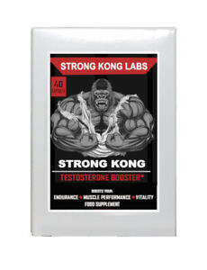 *Strongest* Legal Testosterone Booster- Five PROVEN ANABOLIC Ingredients, Muscle