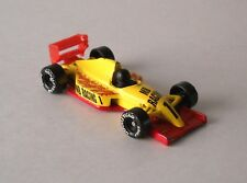 Vintage 1993 Matchbox Formula 1 Racing Car Yellow/Red 1:53 Made in China Loose