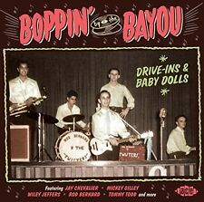 Various Artists - Boppin By The Bayou: Drive-Ins & Baby Dolls / Var [New CD] UK