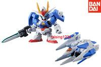 Bandai SD Gundam Figure Dash 07 Gashapon GN-0000 & 0 Raiser 2 pcs
