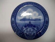 "Royal Copenhagen Plate 1917 Fortress Trekroner 8"" 511 Made Rc#171 / See Details"