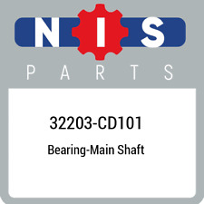 32203-CD101 Nissan Bearing-main shaft 32203CD101, New Genuine OEM Part