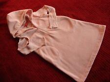 Vintage ESPRIT Mini Girls L 6 6X Soft Pink Hooded Fleece Jumper Dress Shirt Set