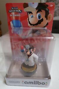 AMIIBO DR. MARIO - Super Smash Bros. New Sealed US FigureNintendo