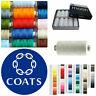 Coats Moon Sewing Machine Polyester Overlocking Thread Cotton 1000 yard 128 Cols
