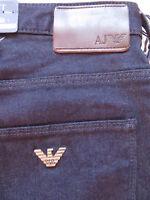 ARMANI AJ Slim Fit J06 Jeans Hose, W 34 /L 32, NEU ! dark indigo Stretch Denim !