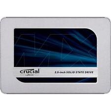 CRUCIAL MX500, 250 GB SSD, 2.5 Zoll, intern, Silber