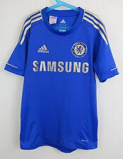 Adidas Chelsea Camiseta De Fútbol Fútbol Jersey 2012-13 niños jóvenes 13-14 Chicos Grandes