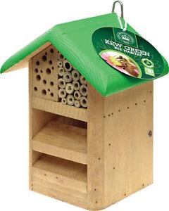 Kew Royal Botanic Gardens Green Bee Habitat Solitary Bees & Beneficial Insects