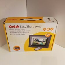 7 inch digital photo frame Kodak EasyShare SV710 picture frame with remote