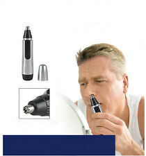 Electric Nose Hair Trimmer Shaver Clipper Cleaner Remover