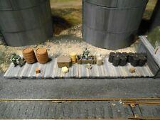 HO Roco Minitanks Hand Painted Custom Detailed Weathered Loading Dock 7th Panzer