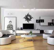 Tribal Ying Yang living room wall sticker - vinyl wall art