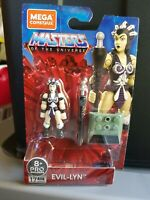MEGA CONSTRUX MASTERS OF THE UNIVERSE Heroes New EVIL LYN in Stock! MOTU 2020