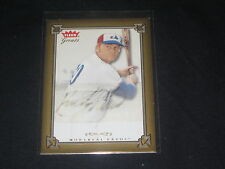 RUSTY STAUB EXPOS LEGEND FLEER CERTIFIED HAND SIGNED AUTOGRAPHED BASEBALL CARD