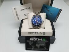 CERTINA 1888 DS ACTION POWERMATIC 80 DIVER´S STAINLESS STEEL 316L 300 W.R.