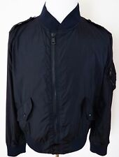 $995 NWT RALPH LAUREN PURPLE LABEL Waterproof Navy Bomber Jacket Coat Size XL