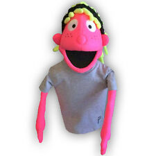 Black Light Girl Puppet #1 - Professional Puppet Ministry, School, Church