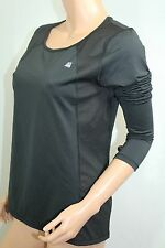 Victoria's Secret VSX Sport Mesh Body-Wick Cool-Dry T-Shirt Large Black NWT