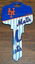 Great Gift Idea MLB NEW YORK METS KWIKSET KW1, KW10, KW11 UNCUT KEY BLANK