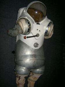 Original Soviet RUSSIAN EVA SPACE SUIT SKV 1965 Lunar program ULTRA RARE №1