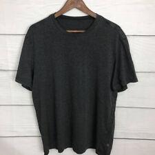 Lululemon T Shirt Dark Gray *Flaw* Size Large L Basic 5 Years Short Sleeve