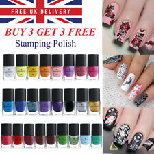BORN PRETTY Nail Art Stamping Polish for Stamping Plates Printing Nail Varnish