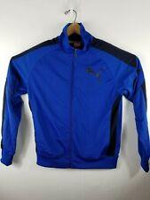 Puma Mens Medium Blue Full Zip Sport Lifestyle Jacket