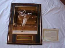 LIMITED EDITION BOB FELLER AUTOGRAPHED AND AUTHENTICATED PHOTO