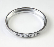 For Rolleiflex 80mm 135mm Lens To B43mm Filter Ring Camera Photo Accessories New