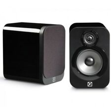 Q Acoustics 3020 - Bookshelf Speakers BLACK LACQUER QA3026 B2 GRADE