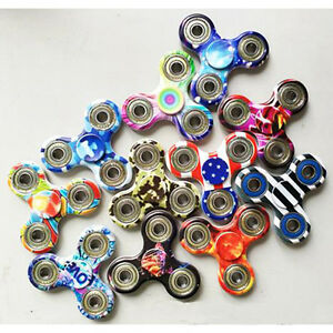 3D Fidget Hand Spinner Finger Stress Reliever For Kids Adult EDC Focus ADHD Toys