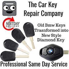 BMW E31 E32 E34 E36 E38 E39 E46 Z3 New Remote Key Fob Repair Conversion 433mhz