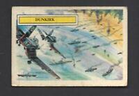 A & B C GUM - BATTLE CARDS - #54 DUNKIRK