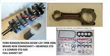 Ford Ranger WL Mazda B2500 2.5 td Engine Crankshaft + bearings+GASKET+1998-2006