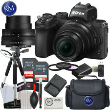 Nikon Z 50 Mirrorless Digital Camera with 16-50mm Lens and Advanced  Bundle