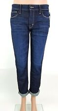 FRED by FRED SEGAL NWT $245 Sexy Perfect Straight Raw Refined Denim Jeans Sz 30
