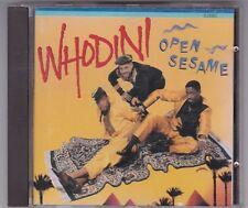 WHODINI - OPEN SESAME - CD ALBUM JIVE WEST GERMANY © 1987