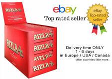 1x Box Rizla Red Cigarette Rolling Paper - 100 Booklets