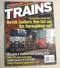 Trains Magazine Back Issue October 2005