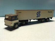 Wiking Seatrain Container Truck Grey/Beige 1/87 Scale Rare/Selten