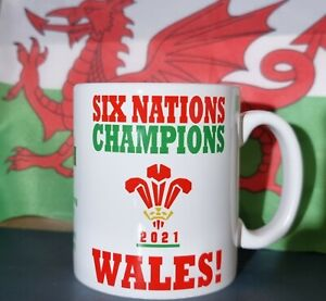 2021 Six Nations Champions, Wales!  - mug
