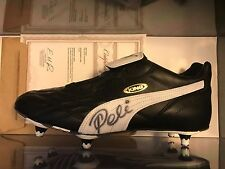 pele signed puma king cleat